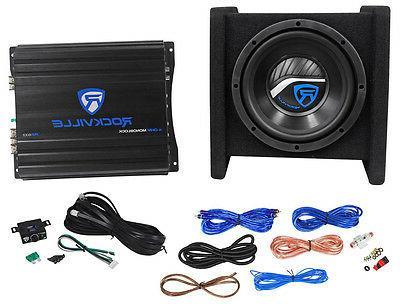 Rockville RV8.1A Loaded Amplifier+Amp