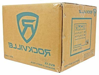 Rockville RV8.1A 400w Loaded Car Enclosure+Mono Amplifier+Amp