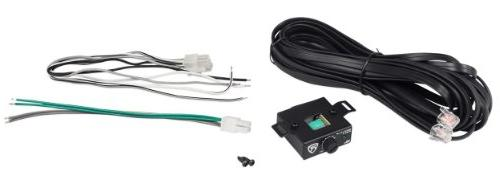 """Rockville 8"""" Powered System+Remote+Wire Kit"""