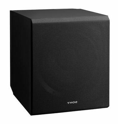 sacs9 10 inch active subwoofer black