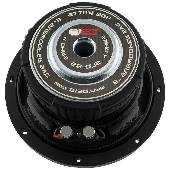 "DS18 SLC 8"" Inch 400 Watts Max Power Sub"