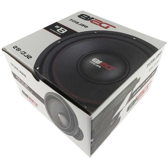 DS18 SLC 8S Inch Subwoofer Watts Max Sub