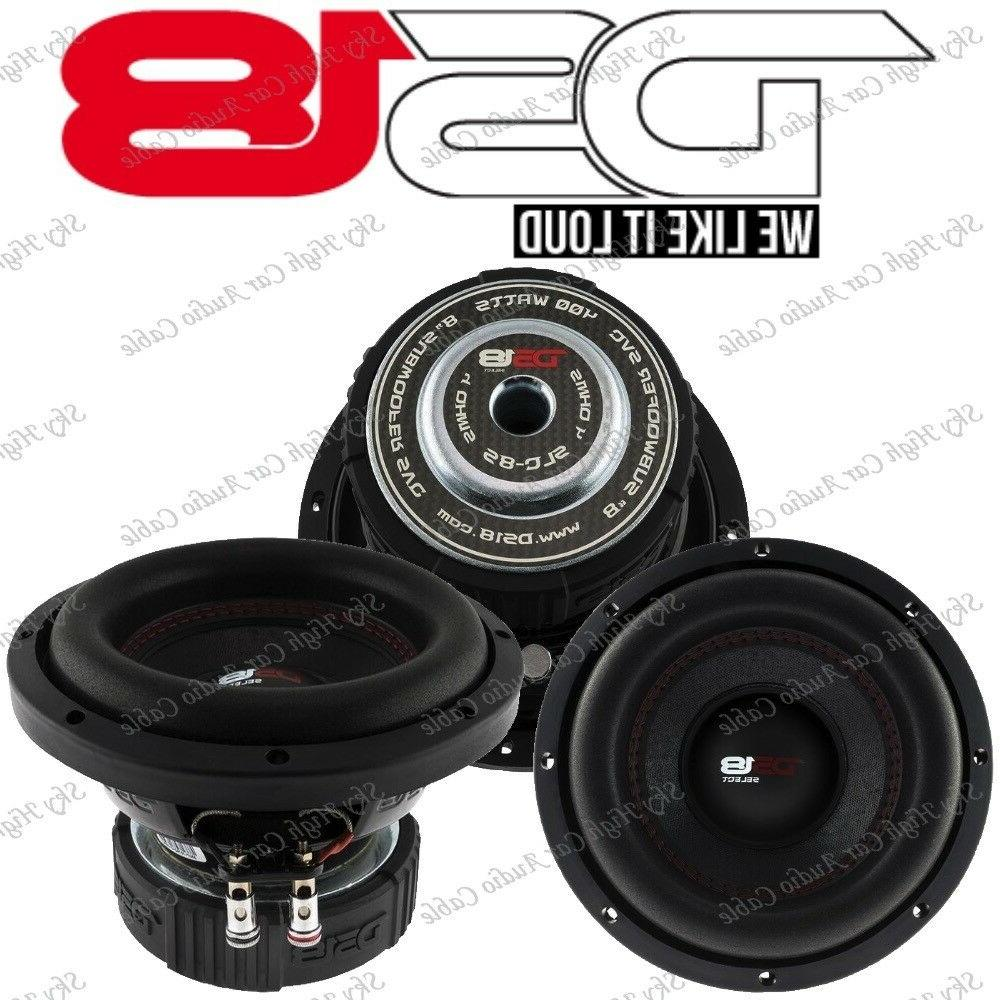 slc 8s 8 inch subwoofer 400 watts