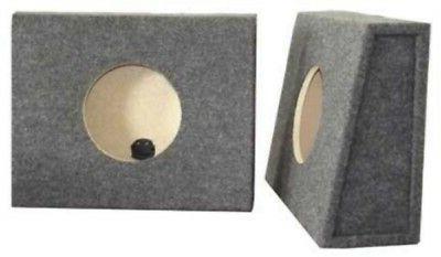 "Subwoofer Speaker Box Enclosure 8"" Single Sealed Truck Box P"