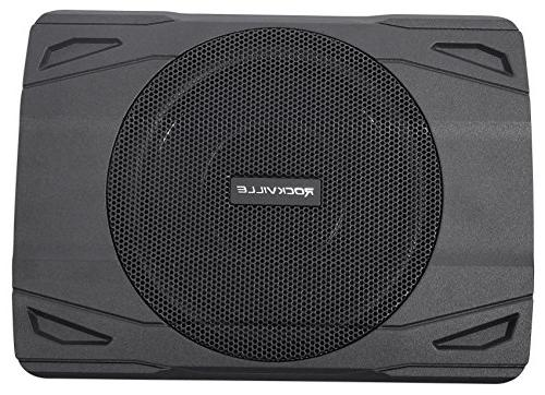 Rockville 400w Slim Car/Truck Subwoofer