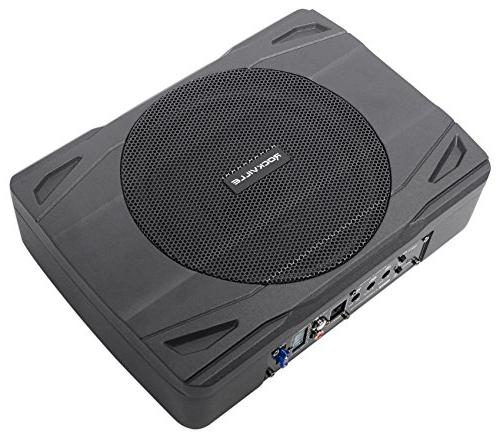 Rockville 400 Slim Powered Subwoofer Sub+Amp Kit