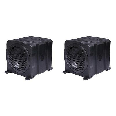 stealth active marine powered sealed subwoofer enclosure