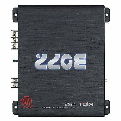 Boss Audio Shallow Enclosure + Amplifier & Kit