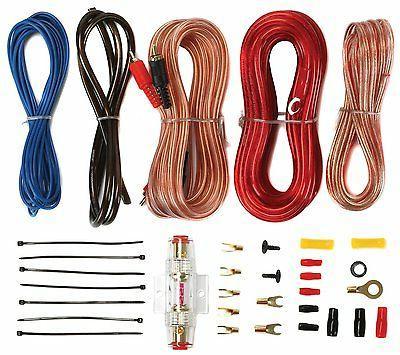 "Kicker 12"" + Dual Box + Car Amplifier + Wiring"
