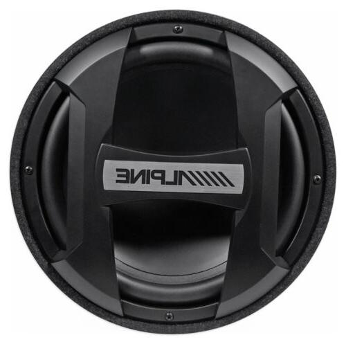 ALPINE SWT-12S4 Subwoofer in 4-Ohm