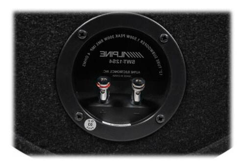 ALPINE Subwoofer Bass 4-Ohm Sub+Bluetooth