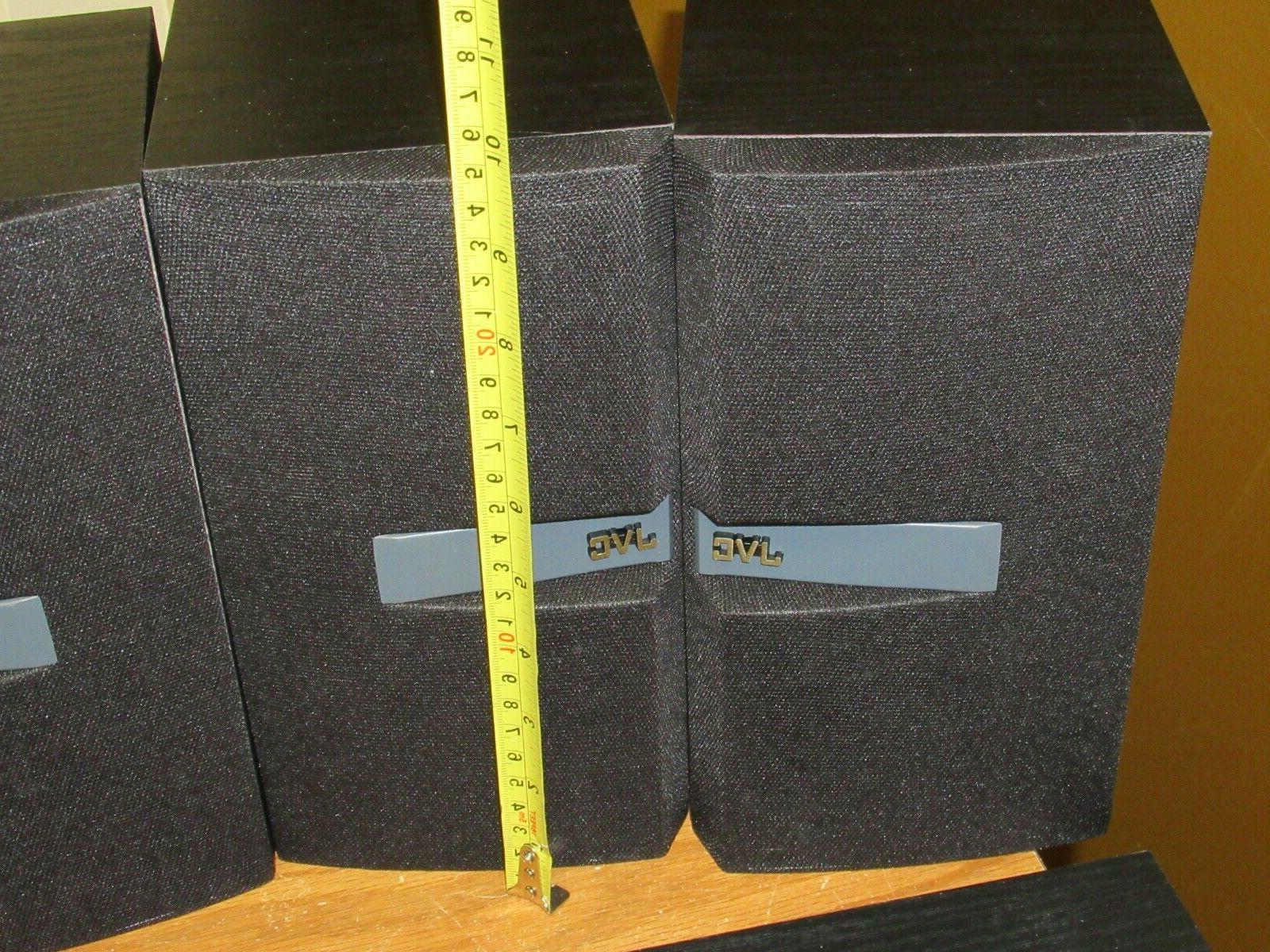 JVC speakers pair of shelf Sub woofer