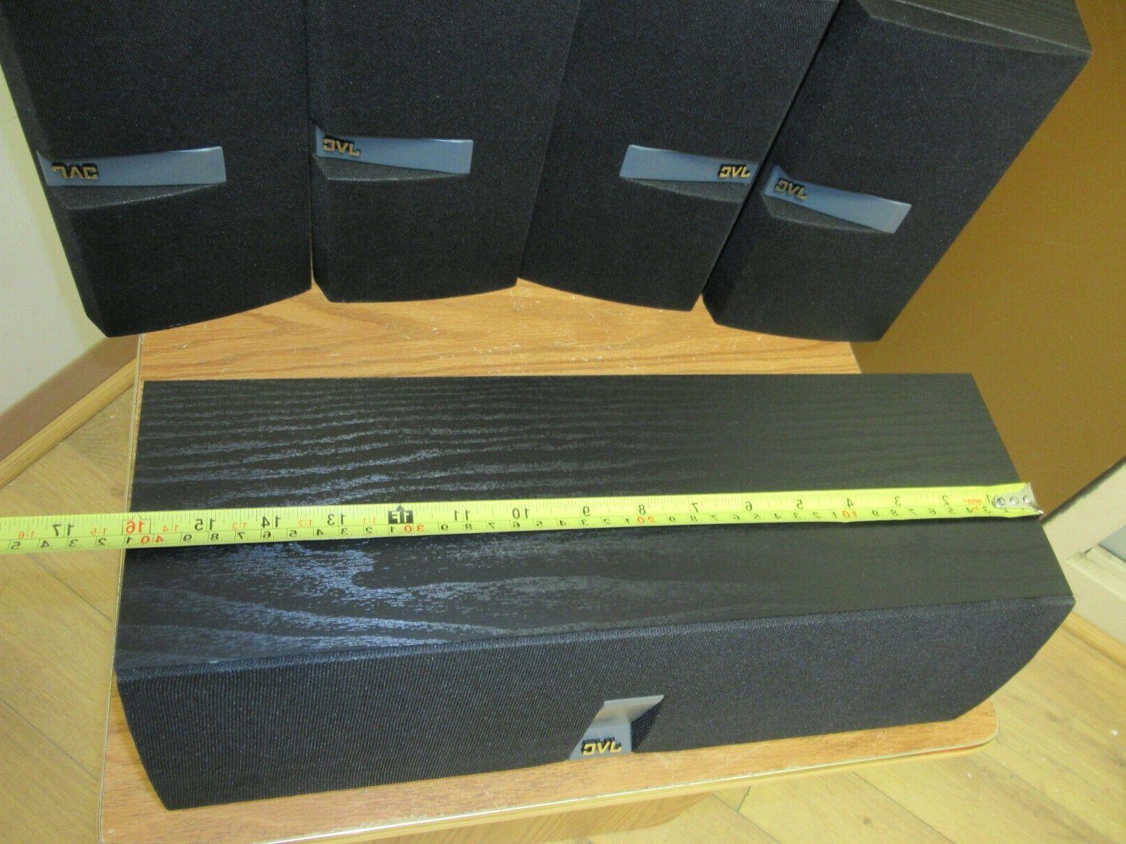 JVC speakers book shelf & Centre Sub