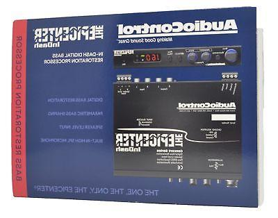 AUDIOCONTROL THE IN-DASH EPICENTER BASS MAXIMIZER AND RESTORATION PROCESSOR NEW