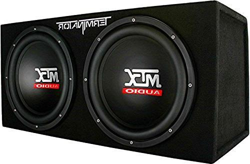 MTX TNP212D2 Dual Subwoofer Audio
