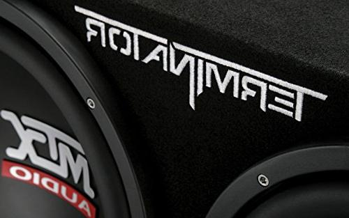 "MTX TNP212D2 12"" Dual Audio Sub+Box+Amplifier+Amp"