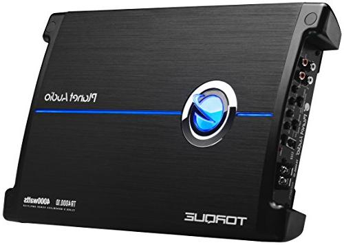 Planet Audio TR4000.1D 4000 1 Stable Class Car Amplifier Subwoofer