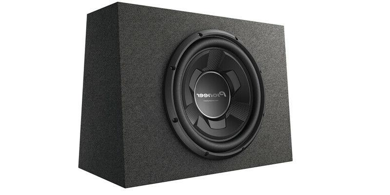 Pioneer TS-WX126B Compact Subwoofer Amplifier 8 Kit