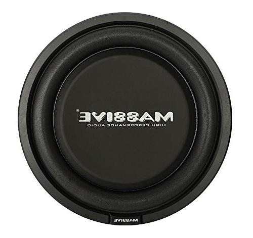Massive UFO10 Inch High Powered Shallow inch Coil Dual 4 Ohm. Car Clean Bass Sound! Sold Individually