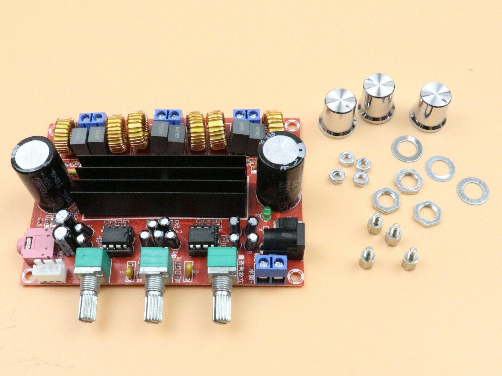 US TPA3116 Digital Power Amplifier Board 2*50W DC24V Two-Cha