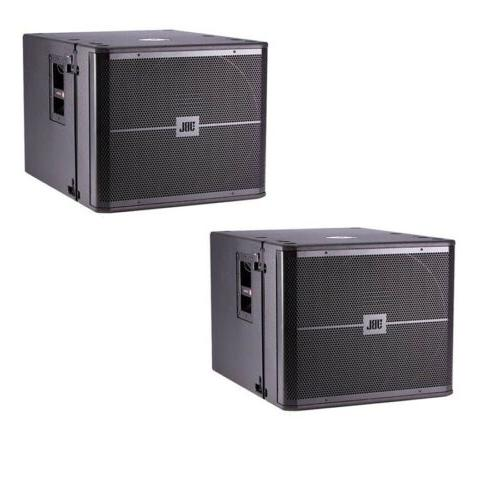 vrx918sp 18 powered flying subwoofer pair new
