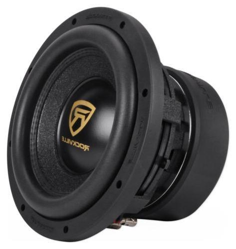 """Rockville W10K9D4 10"""" 3200w Car Audio Dual 4-Ohm Compliant"""