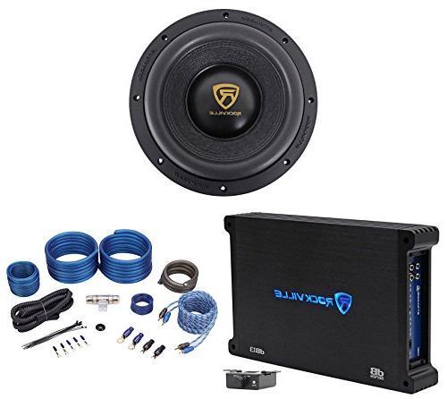 w10k9d4 car audio subwoofer mono