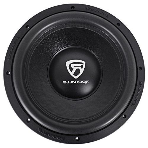 "Rockville W12K6D2 12"" 4800 Watt Car Audio Subwoofers Dual Subs"