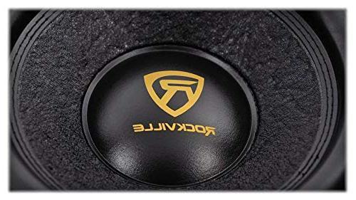 """Rockville 12"""" 4000w Car Audio Subwoofer 2-Ohm"""
