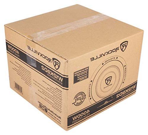 Rockville Car Audio 2-Ohm Sub CEA Compliant