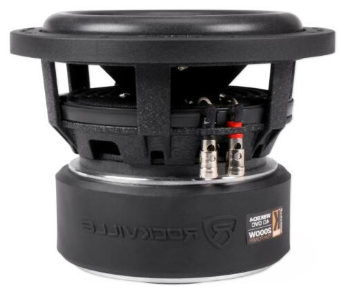 "Rockville 8"" Inch 2000w Dual 4-Ohm Compliant"