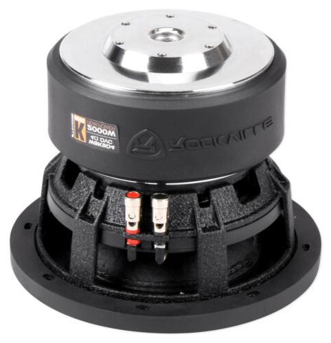 "Rockville 8"" 2000w Dual 4-Ohm Compliant"