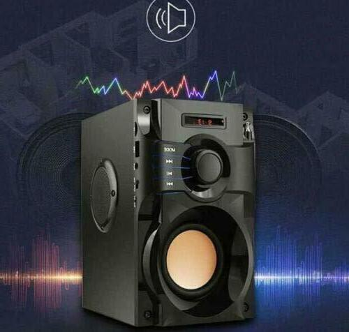 Wireless Outdoor Bluetooth Subwoofer Indoor