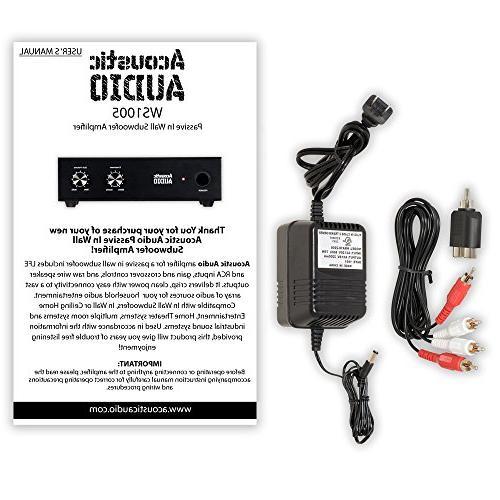 Acoustic Audio Subwoofer