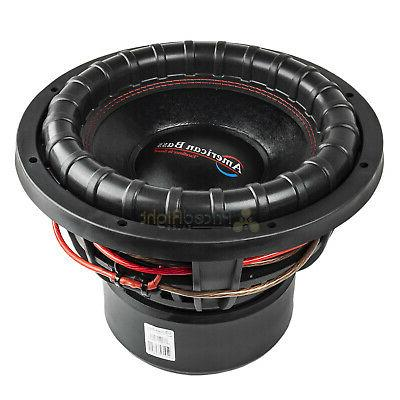American Bass XFL-1222 Subwoofer Dual 2 2000 Watts Audio