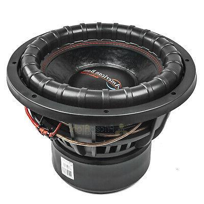 "American 12"" Subwoofer 4 2000 Watts Max Audio"