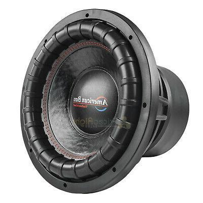 American Subwoofer Dual Ohm 2000 Max Audio