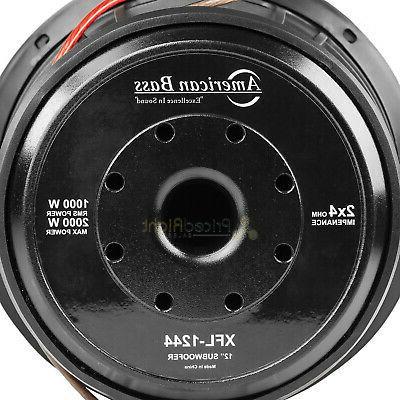 Subwoofer Ohm 2000 Watts Audio