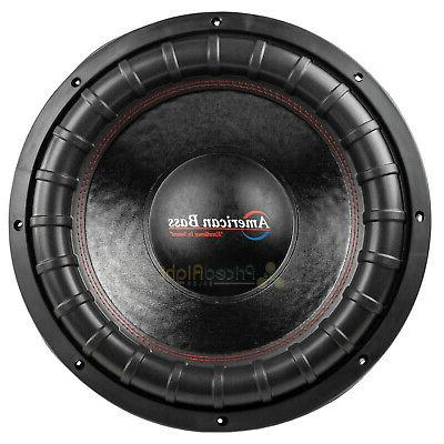 "American Bass XFL-1544 15"" Subwoofer Dual 2000 Car Audio"