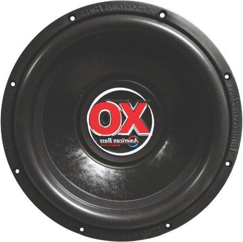 xo1544 15 car audio subwoofer