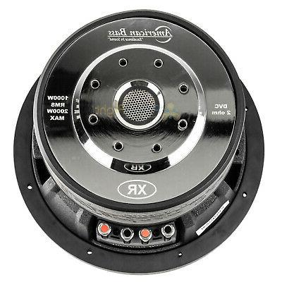 American Subwoofer 2 Ohm 2000W Max 200