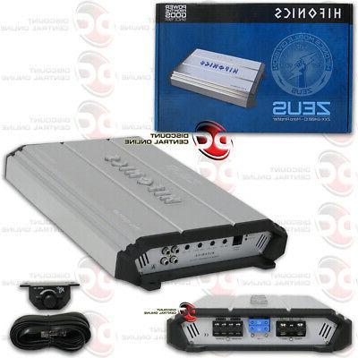 Hifonics Zxx-2400.1d Zeus Series Monoblock Class D Amp