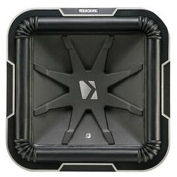 Kicker L712 Q-Class 12-Inch  Square Subwoofer, Dual Voice Co