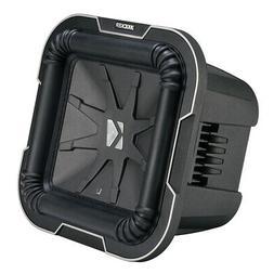 Kicker L78 Q-Class 8-Inch  Square Subwoofer, Dual Voice Coil