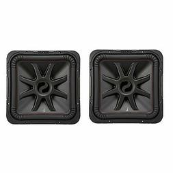 Kicker L7R 10 Inch 1000W Max Power 4 Ohm DVC Square Car Audi