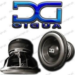 """DC AUDIO Level 6 18"""" 1 ohm Dual Voice Coil Subwoofer 4500/90"""
