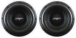 "NEW SKAR AUDIO MA-8 D2 8"" 400W RMS DUAL 2 SUBWOOFERS - PAIR"