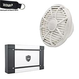 "Wet Sounds Marine Bass Package: 10"" White Free Air Subwoofer"