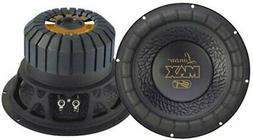 Lanzar MAX12 Max 12 in. 1000 Watt Small Enclosure 4 Ohm Subw