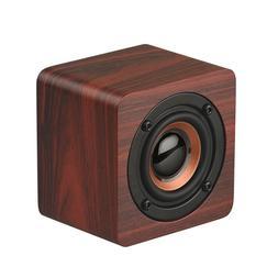 Mini Wireless Bluetooth Speaker Wooden Box Super Bass Loudsp